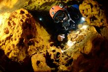 Ancient Human Remains, Ice Age Animal Bones Found in Giant Mexican Cave