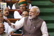 Here's all That Happened in Lok Sabha While PM Modi Was Speaking