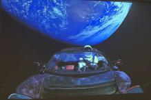 Elon Musk Shoots His Tesla Into Space Via World's Heaviest Rocket