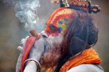 PHOTOS: Sadhus at Pashupatinath Temple During Maha Shivaratri