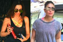 Malaika Arora, Kareena Kapoor Khan Sweat It Out in the Gym