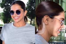 PICS: Deepika Padukone Spotted at Airport with Bandage on Neck