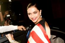 Deepika's Red and White Stripe Saree by Sabyasachi got us Hooked on her Look