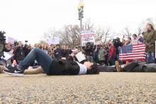 Teens Hold 'Lie-in' Outside White House, Demand Gun Reform