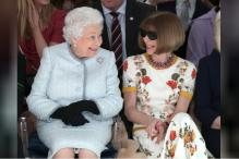 Queen Elizabeth Makes Surprise Appearance At London Fashion Week