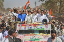 Shivraj, Scindia End High Voltage Campaign for MP By-Polls With Eye on Assembly Elections