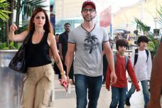 Sussanne Khan Back After Holidaying With Roshans