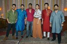 Star Spotting:  Ajay Devgn, Parineeti Chopra, Shilpa Shetty, Huma Qureshi, Karan Johar...