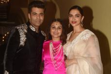 Rani Mukerji And Aditya Chopra's Intimate Diwali Party