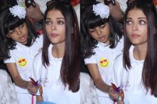 Aaradhya Bachchan Consoles Teary-Eyed Aishwarya Rai