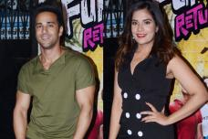 Pulkit Samrat, Richa Chadda Promote Fukrey Returns