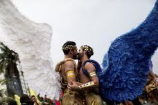 Rio de Janeiro's Annual Gay Pride Parade: Glitzy Affair