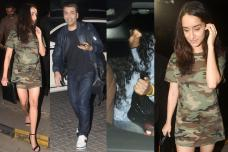 Karan Johar, Shraddha Kapoor & Others Spotted After Dinner