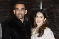 Zaheen Khan & Sagarika Ghatge's Wedding Reception