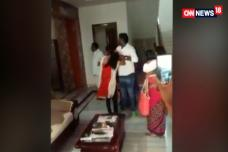 Caught on Camera: TRS Leader, Family Thrash And Abuse Wife in Public