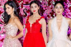 Katrina, Alia, Kareena Dazzle at Lux Golden Rose Awards 2017