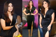 Hotness Alert! Bhumi Pednekar Wows All in Deep V-Neck Dress