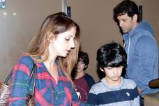 Hrithik Roshan Enjoys a Movie Date with Ex-wife Sussane & Kids