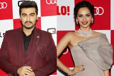 Arjun Kapoor, Manushi Chhillar at Audi Q5 Launch Party