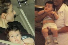 Soha Ali Khan's Daughter is Twinning Image of Taimur; See Pics
