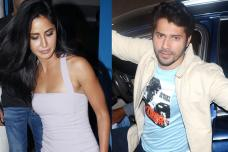 Katrina Kaif, Varun Dhawan at Ali Abbas Zafar's Birthday Party