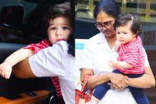 Cute Pictures From Taimur Ali Khan's Latest Outing