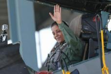 In Photos:  'Top Gun' Nirmala Sitharaman Takes Off in Sukhoi