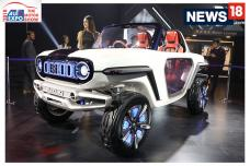Auto Expo 2018: Maruti Suzuki E Survivor Concept First Look