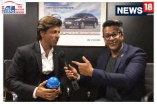 Shah Rukh Khan Exclusive Interview At Auto Expo 2018 on 20 Years Of Hyundai | Cars18
