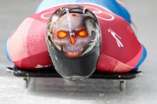 Pyeongchang Olympics 2018: Art of the Skeleton Helmet