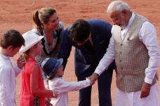 Cute Pics: PM Narendra Modi Meeting Trudeau's Son Hadrien