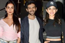 Bollywood Celebrities at 'Sonu Ke Titu Ki Sweety' Special Screening