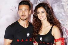 Tiger Shroff, Disha Patani at 'Baaghi 2' Trailer Launch; See Pics