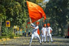 Chhatrapati Shivaji Jayanti Celebrations in India; See Pictures
