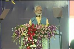 Narendra Modi in Gujarat LIVE: PM Launches 'Ro-Ro' Ferry Service
