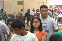 Dravid Stands in Queue at Science Fair, Twitter Praises 'People's Champion'