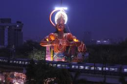 Consider Airlifting 108-Foot Hanuman Statue to Remove Congestion: HC