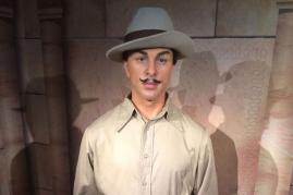 Shahid Bhagat Singh's Wax Figure at Madame Tussauds