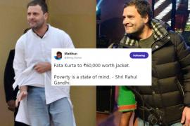 Rahul Gandhi Gets Trolled For Attending A Concert In Rs 70,000 Jacket