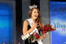 Miss North Dakota Cara Mund wins Miss America 2018 pageant