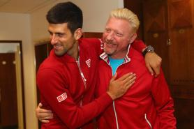 World Number Two Novak Djokovic Splits With Coach Boris Becker