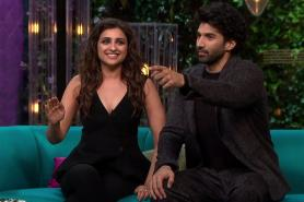 Koffee With Karan: Parineeti Outshines Aditya With Her Wit And Charm