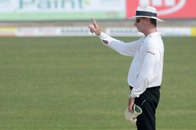 Umpire Paul Reiffel Retires Hurt After Being Hit by Bhuvneshwar Kumar's Throw