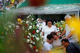 Bodies of Brazil Football Team Killed in Crash Arrive Home
