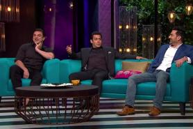 Koffee With Karan: The 100th episode featuring Salman, Arbaaz and Sohail is going to 'Khantastic'