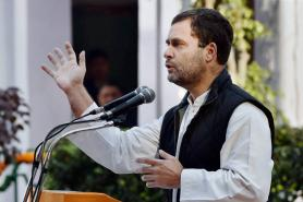Rahul Gandhi Trolled For 'Torn Kurta' Antic During His Speech In Rishikesh