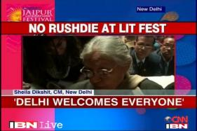 Rushdie is welcome to visit Delhi: Sheila Dikshit