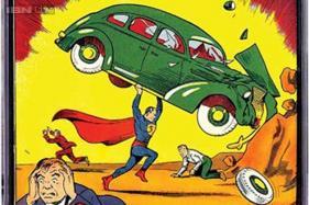 Rare copy of Superman comic book fetches US dollar 3.2 million