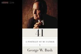 George W Bush's book about father titled '41'