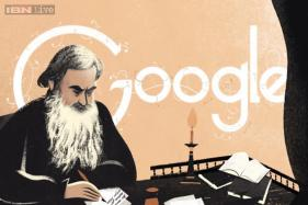 Leo Tolstoy's 186th birthday: Google doodles the great Russian author's epic novels